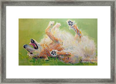 Bears Backscratch Framed Print by Kimberly Santini