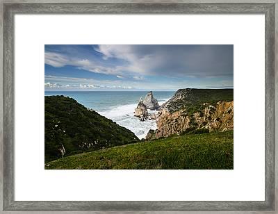 Bear's Beach I Framed Print by Marco Oliveira