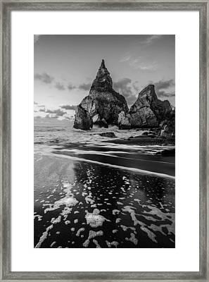Bear's Beach Ix Framed Print by Marco Oliveira