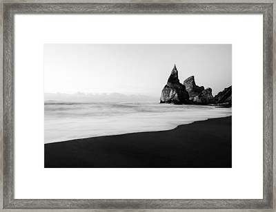 Bear's Beach Vi Framed Print by Marco Oliveira
