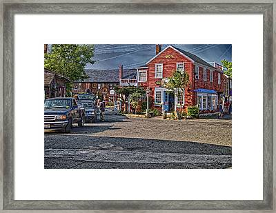 Bearskin Neck Framed Print
