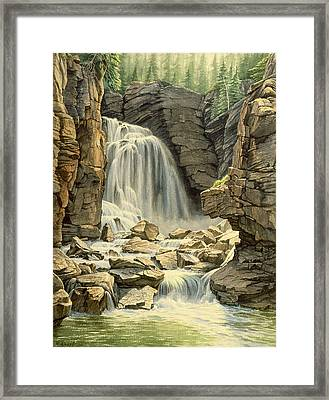 Beartooth Falls Framed Print