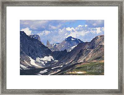 Beartooth Mountain Framed Print