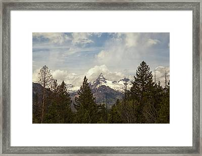 Beartooth Mountain Framed Print by Natural Focal Point Photography