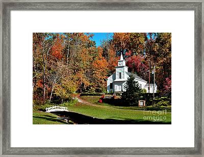Bearwallow Baptist Church Framed Print
