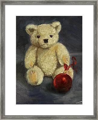 Beary Christmas Framed Print
