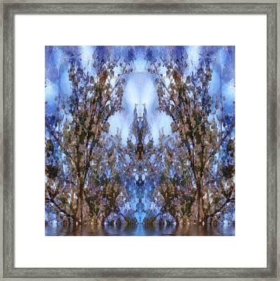 Beast In The Sacred Forest Framed Print