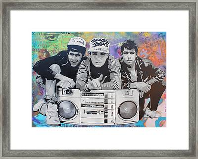 Beastie Boys Framed Print by Josh Cardinali