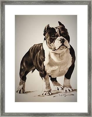 Beastro Framed Print