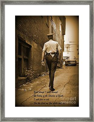 Beat Cop Framed Print