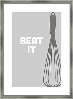 Beat It Framed Print by Nancy Ingersoll
