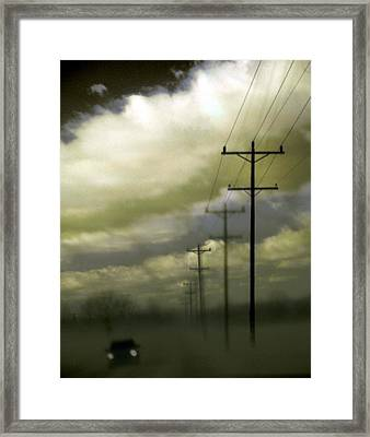 Beat The Night Framed Print by Gothicrow Images