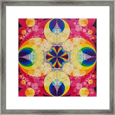 Beatific Framed Print by Nofirstname Aurora
