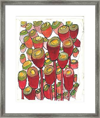 Beating Of The Drum Framed Print by Sherry Harradence