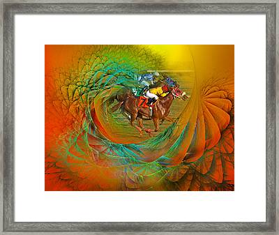 Beating The Equation  Framed Print by Betsy Knapp