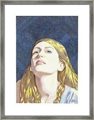 Beatitude Framed Print by Jack Puglisi