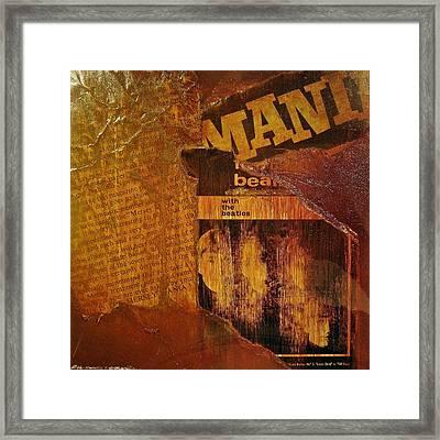 Beatlemania Framed Print by Roland Byrne