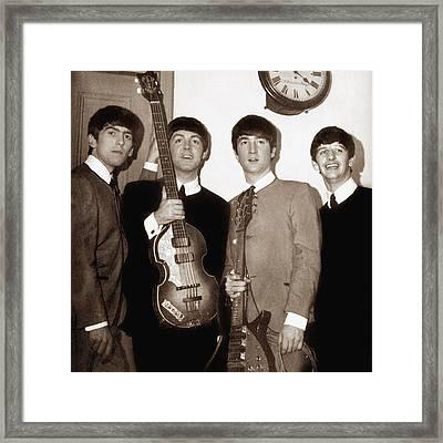 Beatles 1963  Framed Print by Chris Walter