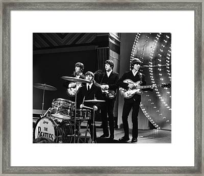 Beatles 1966 Framed Print by Chris Walter