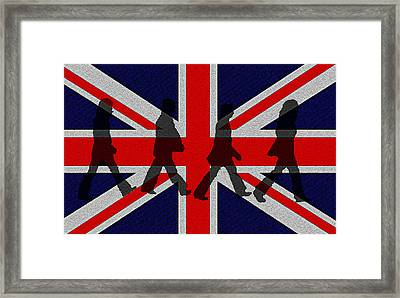 Beatles Abbey Road  Framed Print by Bill Cannon