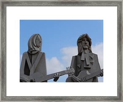 Beatles Framed Print by Dan Sproul
