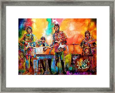Beatles Magical Mystery Tour Framed Print