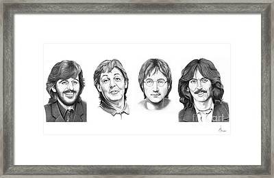 Beatles Framed Print by Murphy Elliott