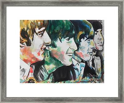 The Beatles 02 Framed Print