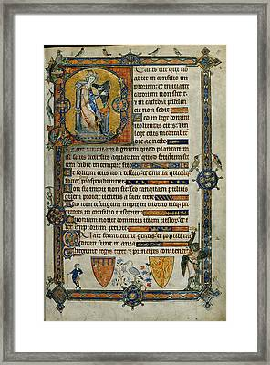 Beatus Page Framed Print by British Library