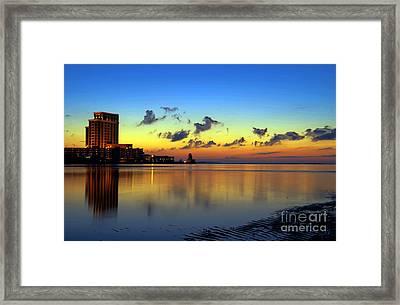 Beau Rivage Sunrise Framed Print