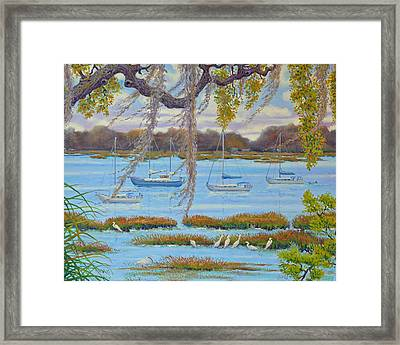 Beaufort Anchorage Framed Print
