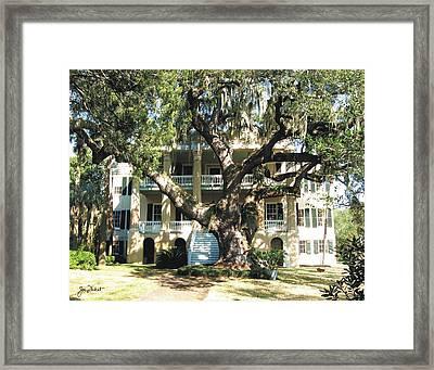 Beaufort Streetscape 4 Framed Print