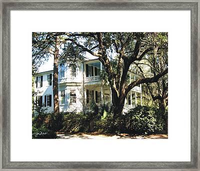 Beaufort Streetscape 6 Framed Print