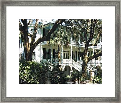 Beaufort Streetscape 7 Framed Print