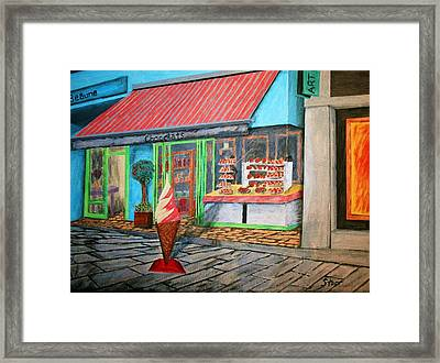 Beaune Chocolats Framed Print by Irving Starr