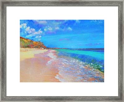 Beauregard Beach - Horizontal Framed Print