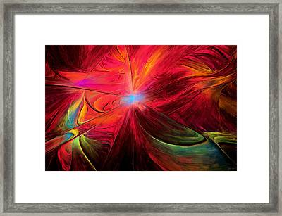 Beaute Des Couleurs Framed Print by Lourry Legarde