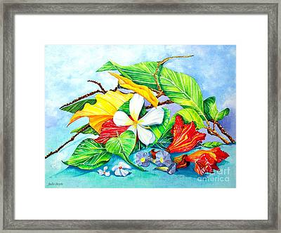 Beauties Of India Framed Print