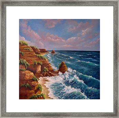 Beautiful Algarve Framed Print