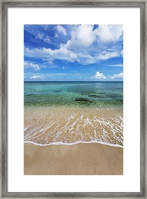 Beautiful And Calm Cane Bay  St. Croix Framed Print by Jenna Szerlag