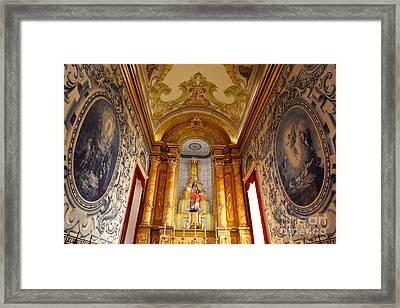 Beautiful Azorean Church Framed Print by Gaspar Avila