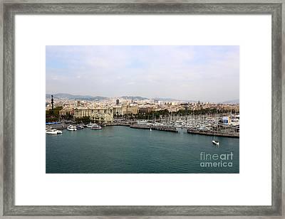 Beautiful Barcelona Framed Print