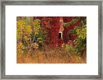 Beautiful Barn Framed Print