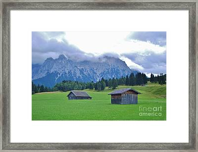 Framed Print featuring the photograph Beautiful Bavaria by William Wyckoff