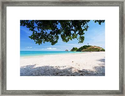 Beautiful Beach Framed Print