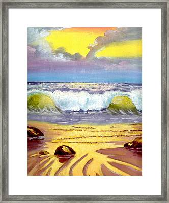 Beautiful Beach Framed Print