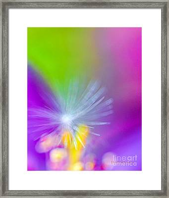 Beautiful Blur Framed Print