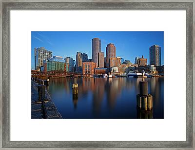 Beautiful Boston  Framed Print