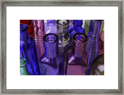 Beautiful Bottles Framed Print