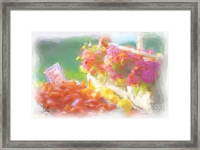 Beautiful Bounty 1035 20140927 Framed Print